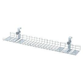 サンワサプライ SANWA SUPPLY ケーブル配線トレー ワイヤー Lサイズ 汎用バックパネル取付け型 CB-CT6