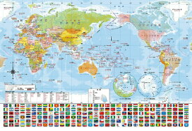 ビバリー BEVERLY ジグソーパズル 80-027 世界地図おぼえちゃおう!(80ピース)