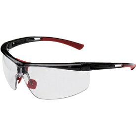 ハネウェル ハネウェル 保護メガネ アダプテック クリアレンズ 赤+黒 標準幅
