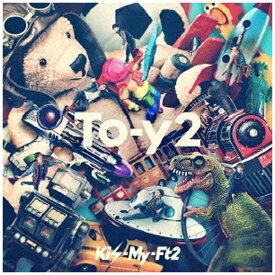 エイベックス・エンタテインメント Avex Entertainment Kis-My-Ft2/ To-y2 初回盤B【CD】