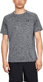 アンダーアーマー UNDER ARMOUR XXLサイズ メンズ トレーニング Tシャツ UAテック 2.0(ブラック×ブラック) 1358553