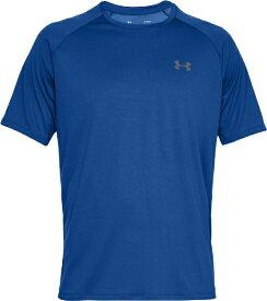 アンダーアーマー UNDER ARMOUR MDサイズ メンズ トレーニング Tシャツ UAテック 2.0(ロイヤル×グラファイト) 1358553