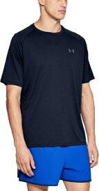 アンダーアーマー UNDER ARMOUR メンズ トレーニング UAテック2.0 ショートスリーブ Tシャツ UA Tech 2.0 SS Tee(LGサイズ×Academy / Graphite)1358553-408