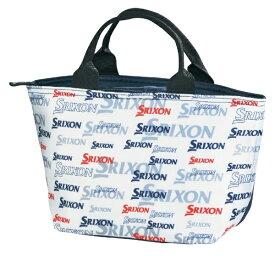 ダンロップ スリクソン DUNLOP SRIXON 保冷ミニトートバッグ SRIXON スリクソン(ホワイト/L22×H19×D13cm)GGF-20446