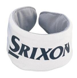 ダンロップ スリクソン DUNLOP SRIXON メンズ ネッククーラー SRIXON スリクソン(ホワイト/フリーサイズ:首回り 約31〜42cm)GGF-25313