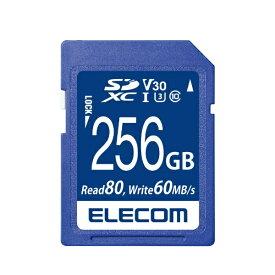 エレコム ELECOM SDXCカード MF-FSU13V3R_XCシリーズ MF-FS256GU13V3R [256GB /Class10]