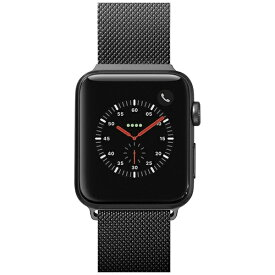 LAUT ラウ APPLE WATCH 1/2/3/4 38/40MM BAND LAUT BLACK LAUT_AWS_ST_BK