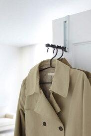 山崎実業 Yamazaki 折り畳みドアハンガー スマート ブラック(Smart Folding Over The Door Hook BK) ブラック 7162