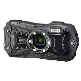 リコー RICOH WG-70 コンパクトデジタルカメラ ブラック [防水+防塵+耐衝撃]