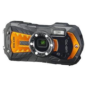 リコー RICOH WG-70 コンパクトデジタルカメラ オレンジ [防水+防塵+耐衝撃]