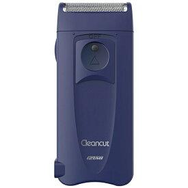 IZUMI イズミ メンズシェーバー[国内・海外対応] Cleancut(クリーンカット) ブルー(A) IZF-C539-A [1枚刃 /AC100V-120V]