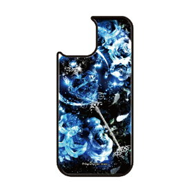 藤家 Fujiya iPhone11 VESTI 着せ替え用背面カバー(ガラスハイブリッド) 幻想デザイン  P. サファイアスティック VESTI P.サファイアスティック vegp7418-p-ip11