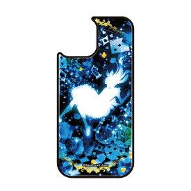 藤家 Fujiya iPhone11 VESTI 着せ替え用背面カバー(ガラスハイブリッド) 幻想デザイン  W .クリスタルブルーアリス VESTI W .クリスタルブルーアリス vegp7418-w-ip11