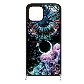 藤家 Fujiya iPhone11Pro VESTI 着せ替え用セット(PCハードカバー+TPUケース) 幻想デザイン  B. ステンドグラスローズ VESTI B.ステンドグラスローズ vespc5313-b-ip11pro
