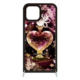 藤家 Fujiya iPhone11 VESTI 着せ替え用セット(ガラスハイブリッドカバー+TPUケース) 幻想デザイン  T. ピンクボトル VESTI T.ピンクボトル vesgp7413-t-ip11
