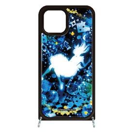 藤家 Fujiya iPhone11 VESTI 着せ替え用セット(ガラスハイブリッドカバー+TPUケース) 幻想デザイン  W .クリスタルブルーアリス VESTI W .クリスタルブルーアリス vesgp7413-w-ip11
