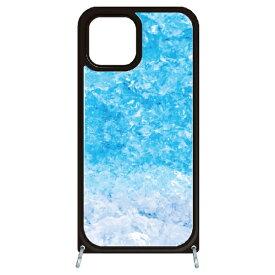 藤家 Fujiya iPhone11 VESTI 着せ替えセット(ガラスハイブリッドカバー+TPUケース) C.フローズンブルー VESTI