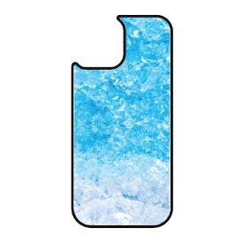 藤家 Fujiya iPhone11 VESTI 着せ替え用背面カバー(ガラスハイブリッド) C.フローズンブルー VESTI