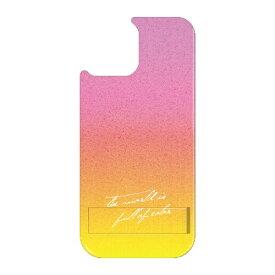 藤家 Fujiya iPhone11Pro VESTI 着せ替え用背面カバー(PCハード) B.ピンク×イエロー VESTI