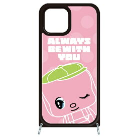 藤家 Fujiya iPhone11 VESTI 着せ替えセット(ガラスハイブリッドカバー+TPUケース) どうぶつのりフエキくん  E.ピンク VESTI vesgp7409-e-ip11