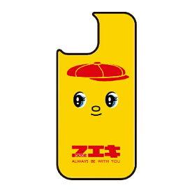 藤家 Fujiya iPhone11 VESTI 着せ替え用背面カバー(ガラスハイブリッド) どうぶつのりフエキくん  C.赤 VESTI vegp7410-c-ip11