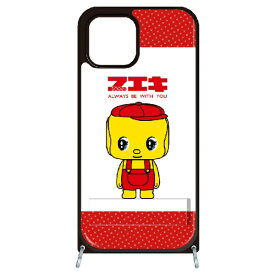 藤家 Fujiya iPhone11 VESTI 着せ替えセット(PCハードカバー+TPUケース) どうぶつのりフエキくん  A.赤ドット VESTI vespc5309-a-ip11