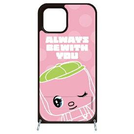 藤家 Fujiya iPhone11 VESTI 着せ替えセット(PCハードカバー+TPUケース) どうぶつのりフエキくん  E.ピンク VESTI vespc5309-e-ip11