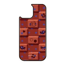 藤家 Fujiya iPhone11Pro VESTI 着せ替え用背面カバー(ガラスハイブリッド) 不二家  G. チョコレートペコ VESTI vegp7426-g-ip11pro