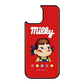 藤家 Fujiya iPhone11Pro VESTI 着せ替え用背面カバー(ガラスハイブリッド) 不二家  K. ミルキーパッケージ VESTI vegp7426-k-ip11pro