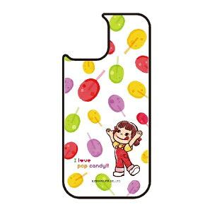 藤家 Fujiya iPhone11 VESTI 着せ替え用背面カバー(ガラスハイブリッド) 不二家  F. ポップキャンディ VESTI vegp7426-f-ip11
