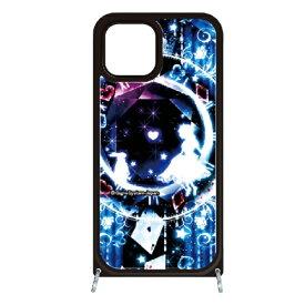 藤家 Fujiya iPhone11 VESTI 着せ替え用セット(ガラスハイブリッドカバー+TPUケース) 幻想デザイン  F. 幻想アリスブルー VESTI F.幻想アリスブルー vesgp7413-f-ip11