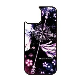 藤家 Fujiya iPhone11Pro VESTI 着せ替え用背面カバー(ガラスハイブリッド) 幻想デザイン  C. クロス VESTI C.クロス vegp7418-c-ip11pro