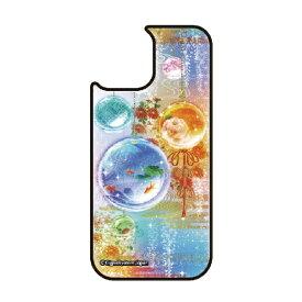 藤家 Fujiya iPhone11Pro VESTI 着せ替え用背面カバー(ガラスハイブリッド) 幻想デザイン  M. 硝子玉 VESTI M.硝子玉 vegp7418-m-ip11pro