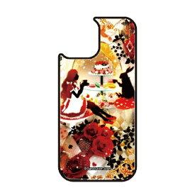 藤家 Fujiya iPhone11Pro VESTI 着せ替え用背面カバー(ガラスハイブリッド) 幻想デザイン  U .アリスのティーパーティ VESTI U .アリスのティーパーティ vegp7418-u-ip11pro