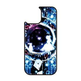 藤家 Fujiya iPhone11 VESTI 着せ替え用背面カバー(ガラスハイブリッド) 幻想デザイン  F. 幻想アリスブルー VESTI F.幻想アリスブルー vegp7418-f-ip11