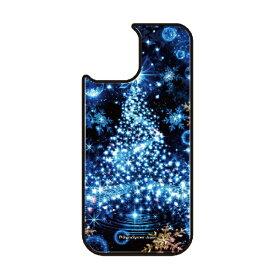 藤家 Fujiya iPhone11 VESTI 着せ替え用背面カバー(ガラスハイブリッド) 幻想デザイン  S. ブルーツリー VESTI S.ブルーツリー vegp7418-s-ip11