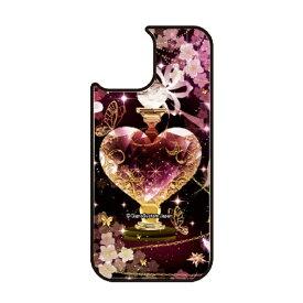 藤家 Fujiya iPhone11 VESTI 着せ替え用背面カバー(ガラスハイブリッド) 幻想デザイン  T. ピンクボトル VESTI T.ピンクボトル vegp7418-t-ip11