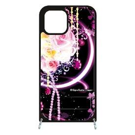 藤家 Fujiya iPhone11 VESTI 着せ替え用セット(PCハードカバー+TPUケース) 幻想デザイン  H. 幻想ピンクローズ VESTI H.幻想ピンクローズ vespc5313-h-ip11