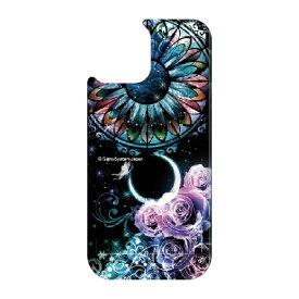 藤家 Fujiya iPhone11 VESTI 着せ替え用背面カバー(PCハード) 幻想デザイン  B. ステンドグラスローズ VESTI B.ステンドグラスローズ vepc5318-b-ip11
