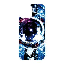 藤家 Fujiya iPhone11 VESTI 着せ替え用背面カバー(PCハード) 幻想デザイン  F. 幻想アリスブルー VESTI F.幻想アリスブルー vepc5318-f-ip11