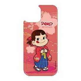 藤家 Fujiya iPhone11 VESTI 着せ替え用背面カバー(PCハード) 不二家  O. ペコ和柄ピンク VESTI vepc5326-o-ip11