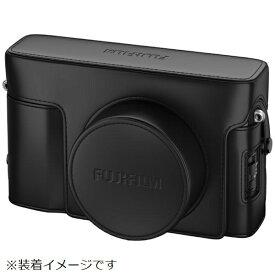 富士フイルム FUJIFILM レザーケース LC-X100V ブラック