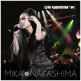 ソニーミュージックマーケティング 中島美嘉/MTV Unplugged 初回生産限定盤(Blu-ray Disc付) 【CD】