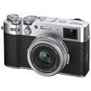 富士フイルム FUJIFILM X100V コンパクトデジタルカメラ シルバー
