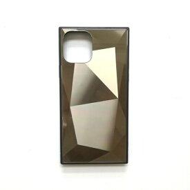 アクロス ACROSS iPhone11 Pro Max SQガラスハイブリッドケース(ダイヤ柄) AIC-DAIA09-NEW65 ゴールド