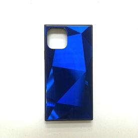 アクロス ACROSS iPhone11 Pro Max SQガラスハイブリッドケース(ダイヤ柄) AIC-DAIA11-NEW65 ブルー