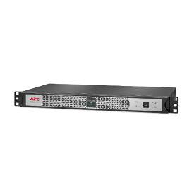 シュナイダーエレクトリック Schneider Electric UPS 無停電電源装置 APC Smart-UPS Lithium Ion、Short Depth 400VA、100V ブラック/シルバー SCL400RMJ1U