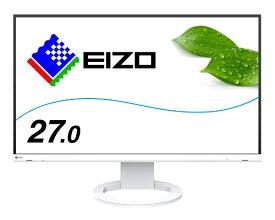 EIZO エイゾー EV2760-WT PCモニター FlexScan ホワイト [27型 /ワイド /WQHD(2560×1440)]