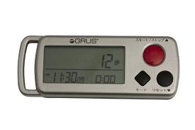 インテック 心拍・歩幅計測機能付歩数計S GRUS(グルス) GRS002-02