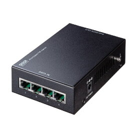 サンワサプライ SANWA SUPPLY PoEインジェクター[4ポート /Giga対応] LAN-GIHINJ3